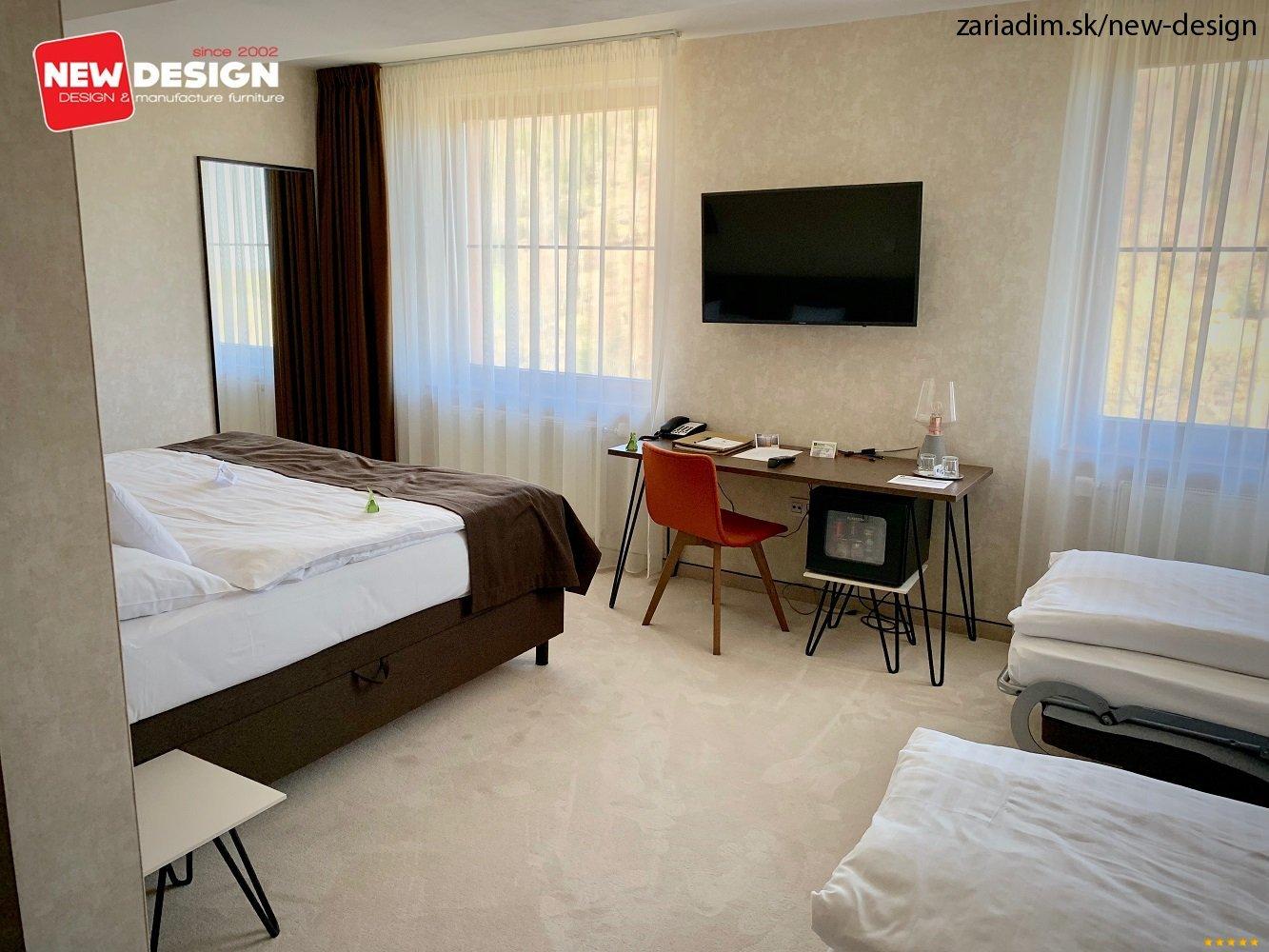 ec5a46631542 Rekonštrukcia izieb v hoteli Bellevue vo Vysokých Tatrách