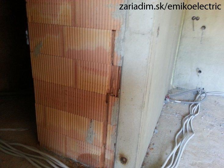 Montáž novej elektroinštalácie v bytovom dome 55d8fda1dd