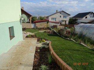 Architektonicko-sadovnické riešenie rodinnej záhrady