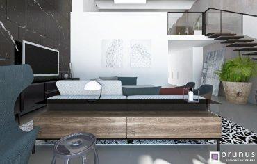 Interiérový dizajn mezonetu v Prahe, návrh, výroba na mieru I PRUNUS kuchyne interiéry