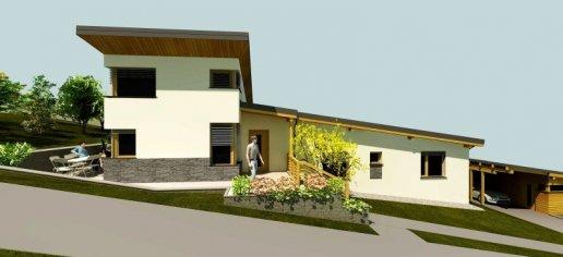 Nízkoenergetický rodinný dom, Drienovská Nová Ves