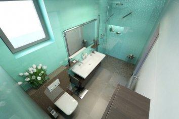 Nová kúpeľňa s nádychom azúrového mora