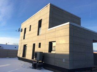 Novostavba dvojpodlažného rodinného domu
