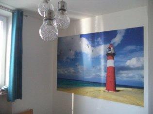 Fototapeta do chlapčenskej izby + Vliesová tapeta do obývačky za TV