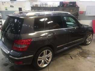 Autofólie SunTek na Mercedes GLK