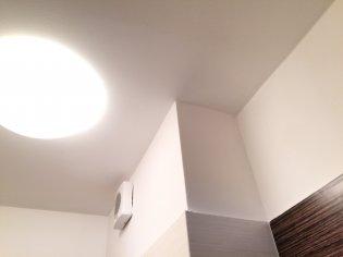 Oprava zatečenia SDK stropu