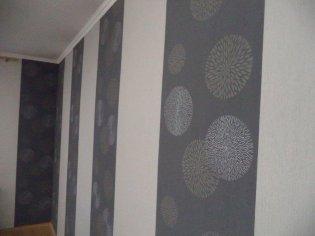 Maľba rodinného domu + lepenie okrasných líšt + tapetovanie