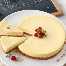 narodeninový cheesecake