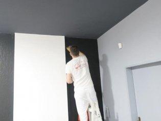 Maľba ateliéru architekta