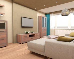 Grafický návrh obývačky
