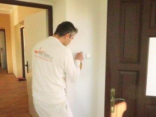 Maľba vstupnej chodby a izby pre nadáciu Svetielko pomoci
