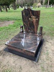 Urnový hrob speváčke Janke Kocianovej