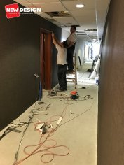 Rekonštrukcia izieb v hoteli Bellevue vo Vysokých Tatrách