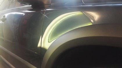 Oprava preliačin Volvo
