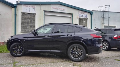 Oprava preliačin BMW