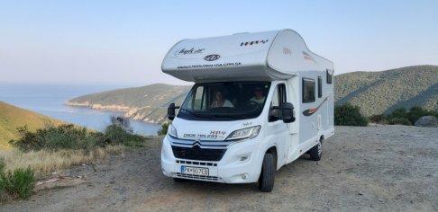 Požičanie karavanu na okružnú cestu do Grécka
