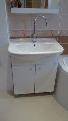 Rekonštrukcia kúpeľne v rodinnom dome.