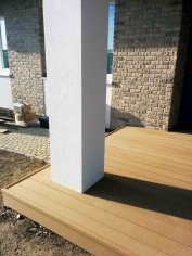 drevoplastová terasa z wpc Sufloor , Tomčany