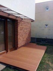 Drevoplastová terasa z wpc sufloor Stráne