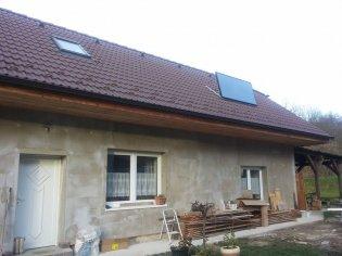 SV20 na strechu