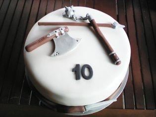 Chutná a krásna torta