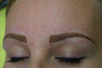 Fantastický permanentný make-up obočia