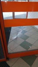 Výmena okien, predajňa COOP Jednota - Bratislava
